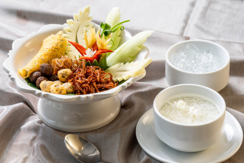 Devasom Huahin recommence dishes